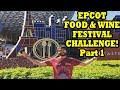 EPCOT FOOD & WINE FESTIVAL 2015 CHALLENGE - PART 1