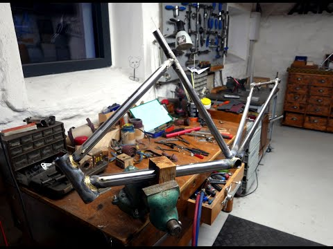 Crafting steel frame out of Columbus Cento Arko Bici #2