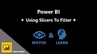 9. استخدام أدوات تقطيع إلى تصفية باستخدام Power BI لخلق نظرة عامة مرئية من العملاء