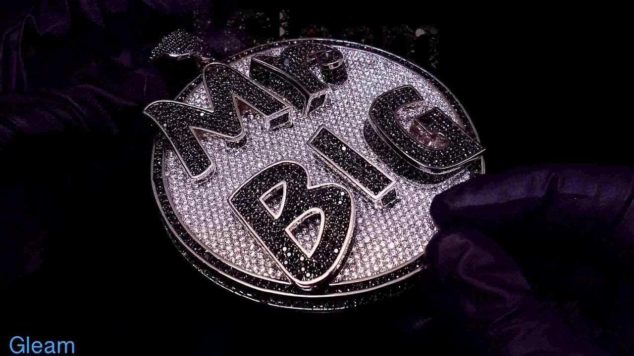 Custom Hip Hop Jewelry Mr Big Extra Large YouTube