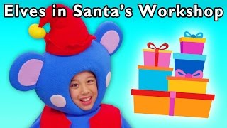 christmas present party   elves in santa s workshop and more   baby songs from mother goose club