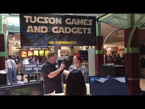 Opening Weekend Of Tucson Games and Gadgets VR Experience at Tucson Mall!