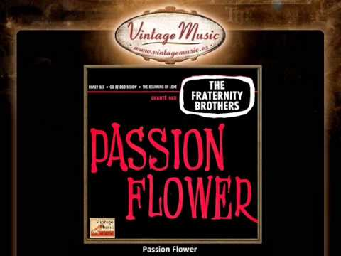 The Fraternity Brithers  Passion Flower VintageMusic.es