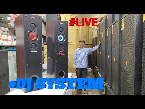 BHARAT ELECTRONICS BEST DJ SYSTEM LIVE DJ SYSTEM 300 WATT AMPLIFIER DIWALI DHAMAKA