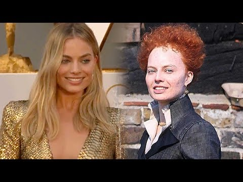 Thumbnail: Margot Robbie Is Totally Unrecognizable as Queen Elizabeth I Filming 'Mary, Queen of Scots'
