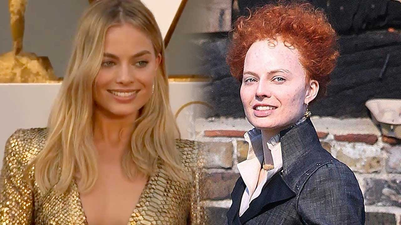Margot Robbie Is Totally Unrecognizable As Queen Elizabeth I Filming