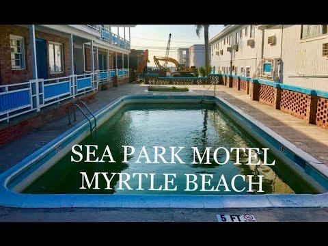 Empty Oceanview Motel Sea Park Myrtle Beach Abandoned