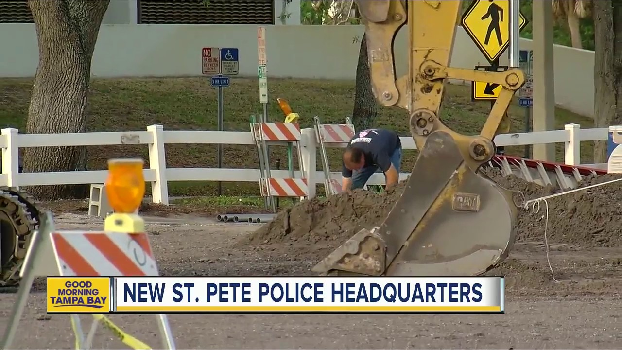 City breaking ground on new St  Pete police headquarters