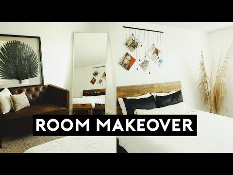 THE ULTIMATE BEDROOM MAKEOVER + ROOM TOUR 2019 | Nastazsa
