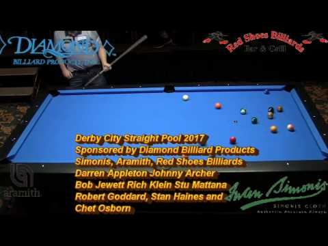 Chris Melling Lo Li-Wen Straight Pool Match to 125