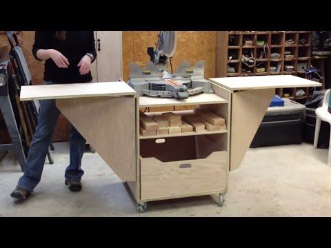 DIY Miter Saw Stand