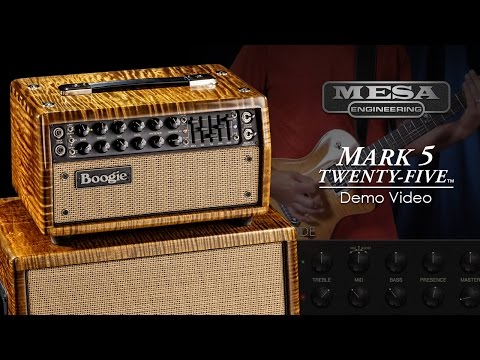 MESA/Boogie Mark Five: 25 Official Demo Video