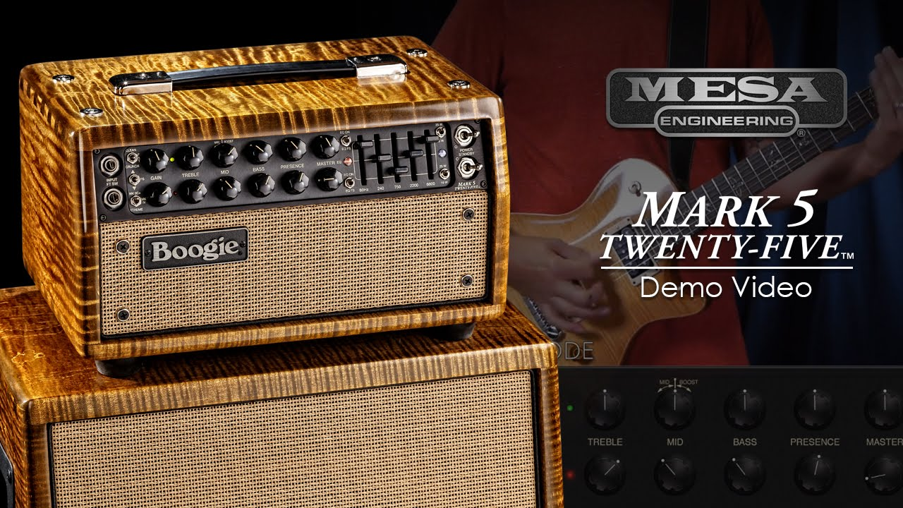 MESABoogie Mark Five 25 Official Demo Video  YouTube