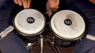 MEINL Percussion Latin Styles on Bongos - HB50BK