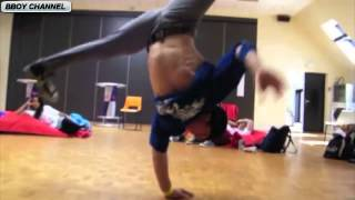 MARCIO,THE END,FUNT,KILL & PACO in 8 ONE POWERMOVES   BACK STAGE   HD - Break Dance