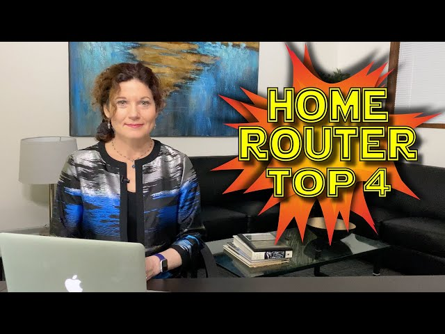 Top 4 things you need to do with your home router