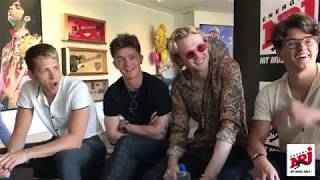 10 quick questions with the Vamps (sorry for the bad sound...) Vill...