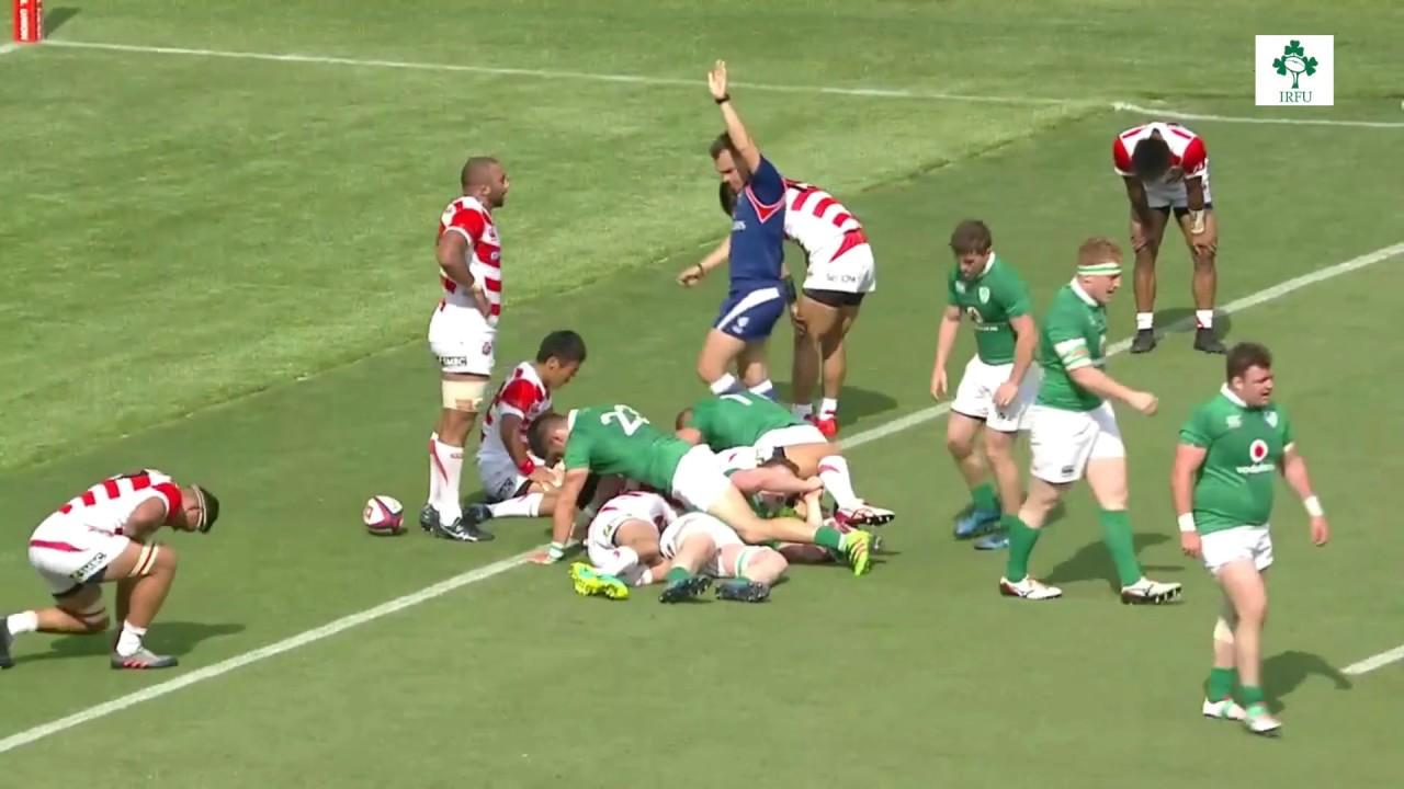 irish rugby match tonight