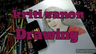 kriti sanon drawing