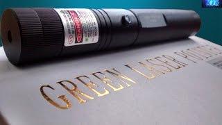 Laser verde luz