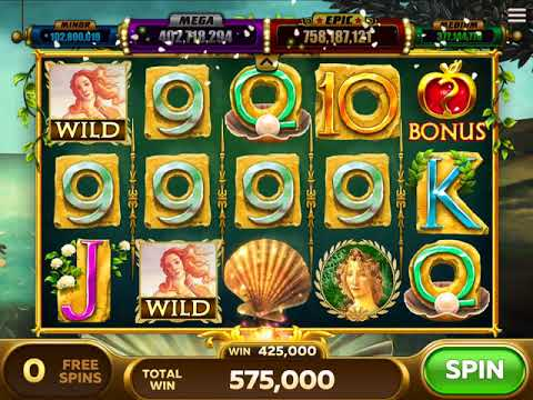 VENUS Video Slot Casino Game with a FREE SPIN BONUS