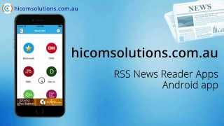 RSS News Reader ios app source code for sale