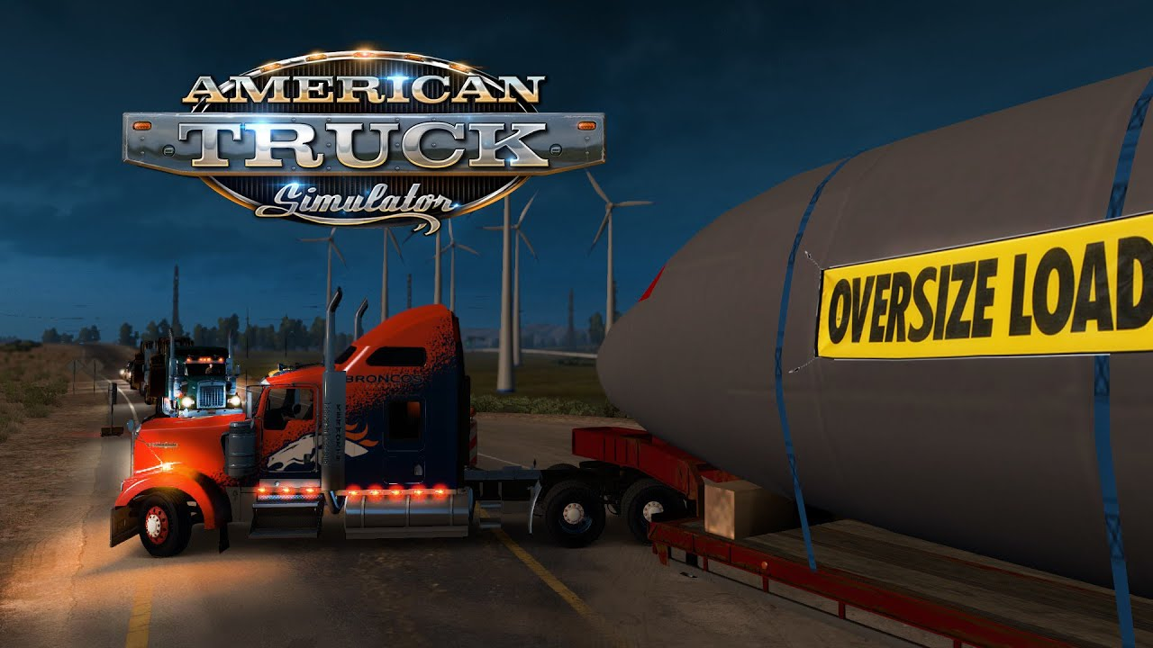 American Truck Simulator - Oversize Load - Rush Delivery - Airbus A320  Fuselage by ATS Experience