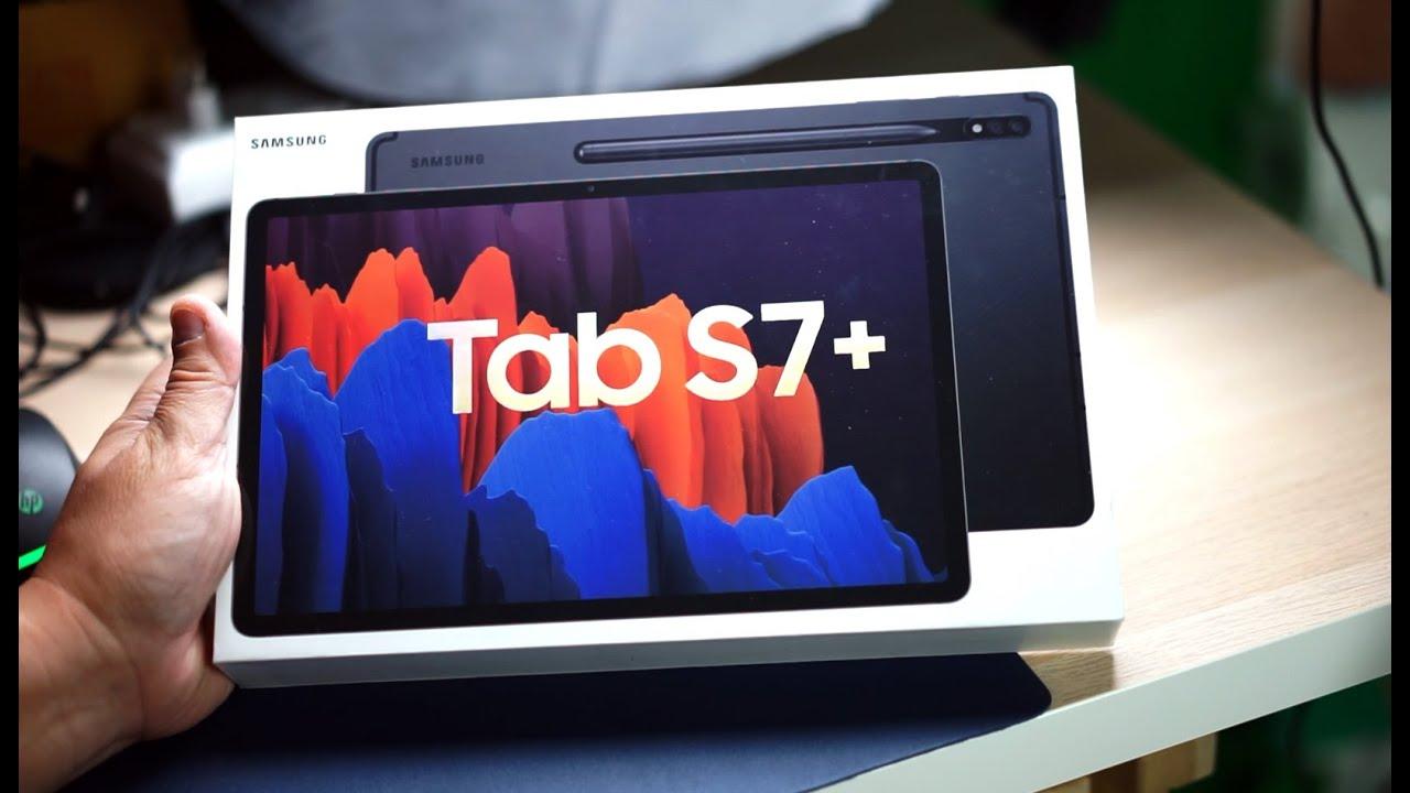 พรีวิว Samsung Galaxy Tab S7+ แท็บเล็ตตัวพ่อ ไปให้สุดกับจอ 12.4 นิ้ว ปากกา S-Pen และ Snapdragon865+