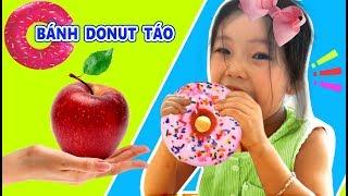 Trò Chơi Bé Làm Bánh Donut Táo★Edu Kids TV