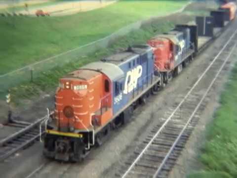 Vintage Ore Railroads