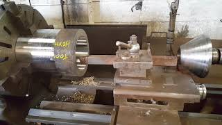 Heavy roughing and finishing cuts 304 stainless steel
