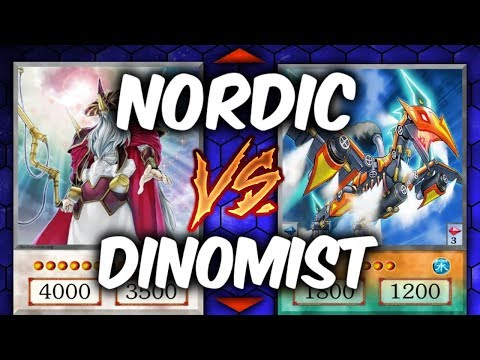 Duel Week: DINOMIST vs ODD-EYES (Yugioh Deck Mastery)