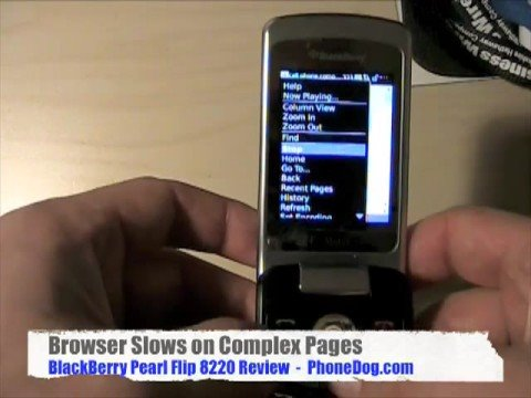 BlackBerry Pearl Flip 8220 (T-Mobile): Review Part 2