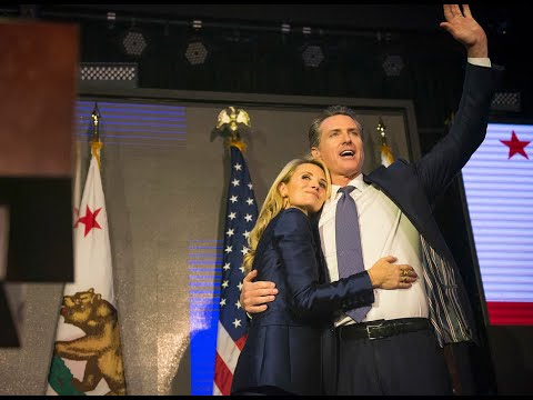 Watch Gavin Newsom speak after becoming governor