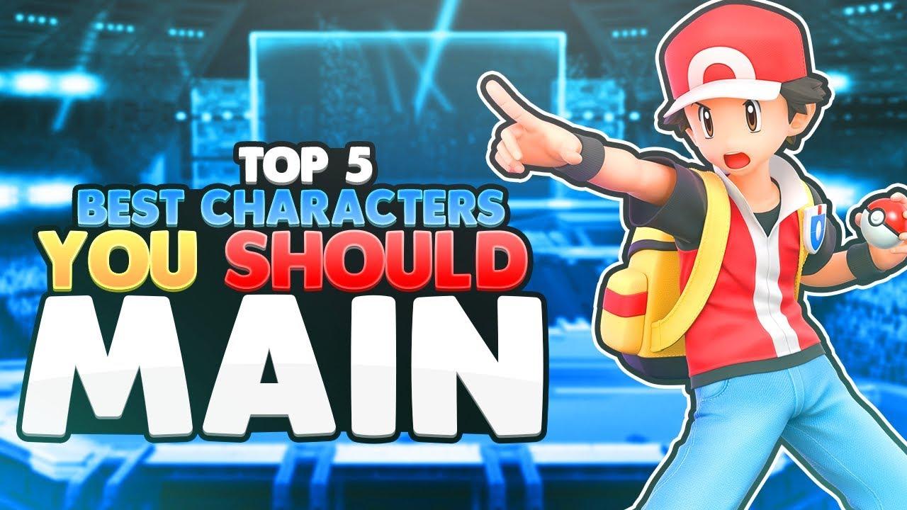 Top 5 BEST Characters (You Should Main) | Super Smash Bros. Ultimate thumbnail