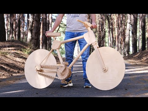 How to Make a Wooden Bike for 200 Hours