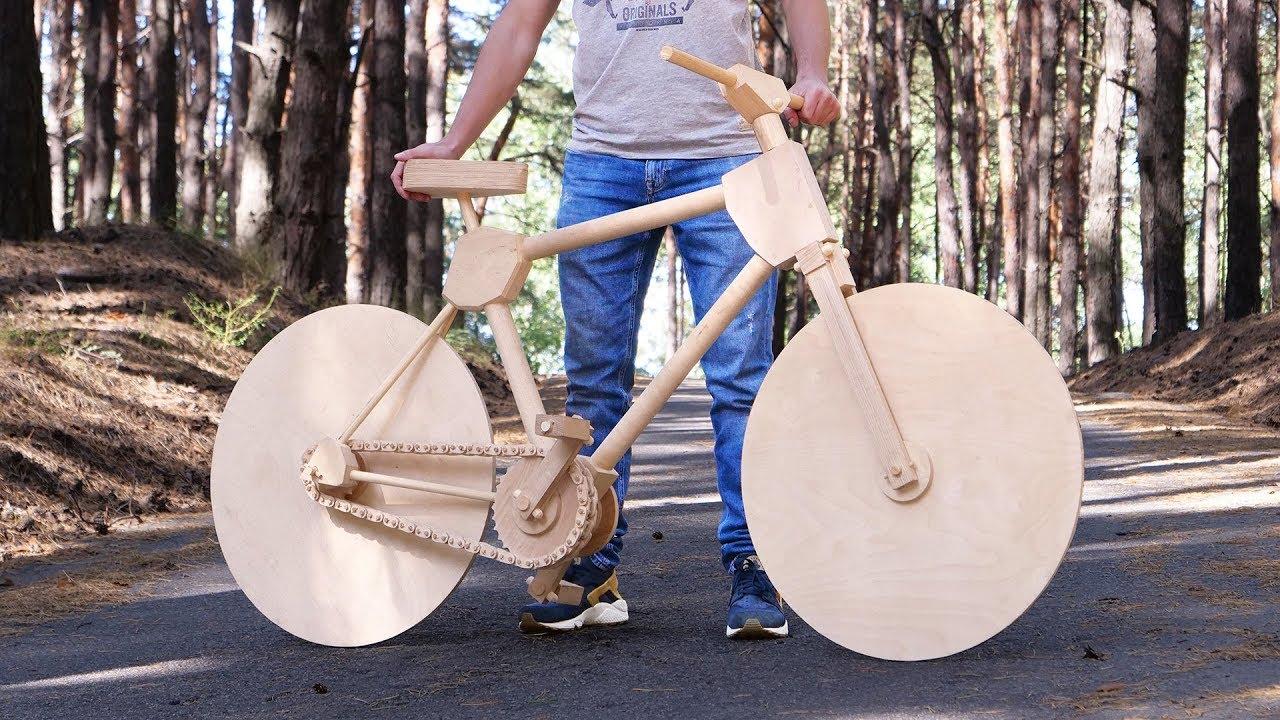 Wie man in 200 Stunden ein funktionierendes Fahrrad aus Sperrholz baut