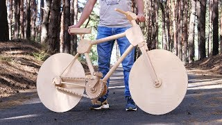 How to Make a Wooden Bike for 200 Hours thumbnail