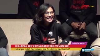 Ditanya Soal Arie Kriting, Indah Permatasari Kabur Dari Wartawan - JPNN.com