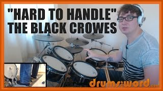 ★ Hard To Handle (The Black Crowes) ★ Drum Lesson PREVIEW | How To Play Song (Steve Gorman)