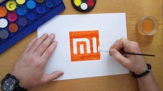 How to draw the Xiaomi logo