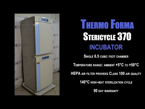 Thermo Forma Stericycle 370 incubator (3176E INC)