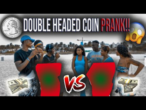 DOUBLE HEADED COIN PRANK! FLIP OR GRAB🔥😭  PUBLIC INTERVIEW (FT:GIRLHEFUNNYAF44)