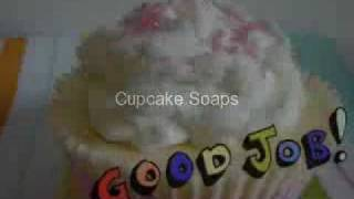 Spring Cupcake Soaps, Bath Bombs and Bath Melts Cocoa Butter