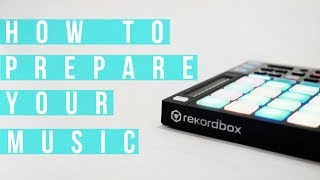 How to prepare your DJ music for a gig  💃🏽