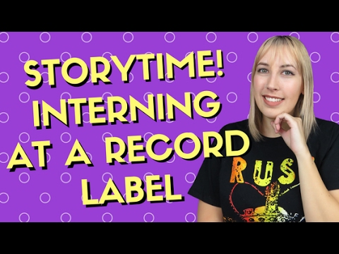 Storytime ♡ Interning at a Record Label Mp3