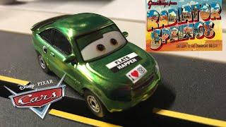 Mattel Pixar Cars 2019 Scavenger Hunt Metallic Nick Stickers Die-cast