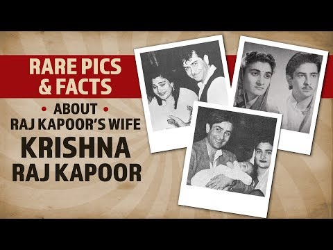 Rare pics & facts about Raj Kapoor's wife Krishna Raj Kapoor | Bollywood | Pinkvilla