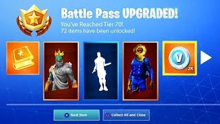 *NEW* SEASON 8 BATTLE PASS UNLOCKED! (FORTNITE SEASON 8 LEAKED)
