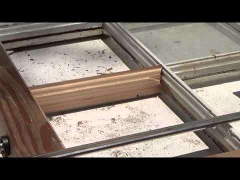 Repairing A 6 Light Window Sash #4